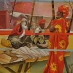 Oil on canvas - 95,5 x 115 cm