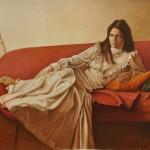 Oil on canvas - 82 x 100 cm