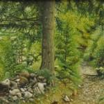 Oil on canvas - 40 x 50 cm