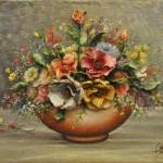 Oil on jute modeled - 38 x 54 cm